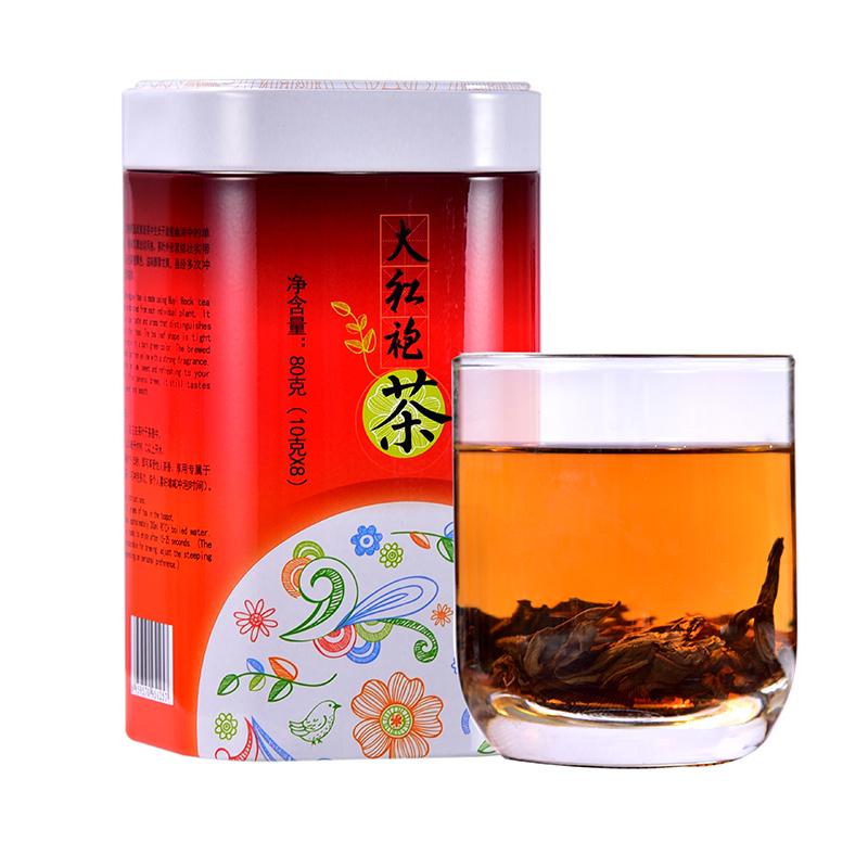 Tenfu Wuyi Da Hong Pao Oolong Tea Buy Online 80g Buy